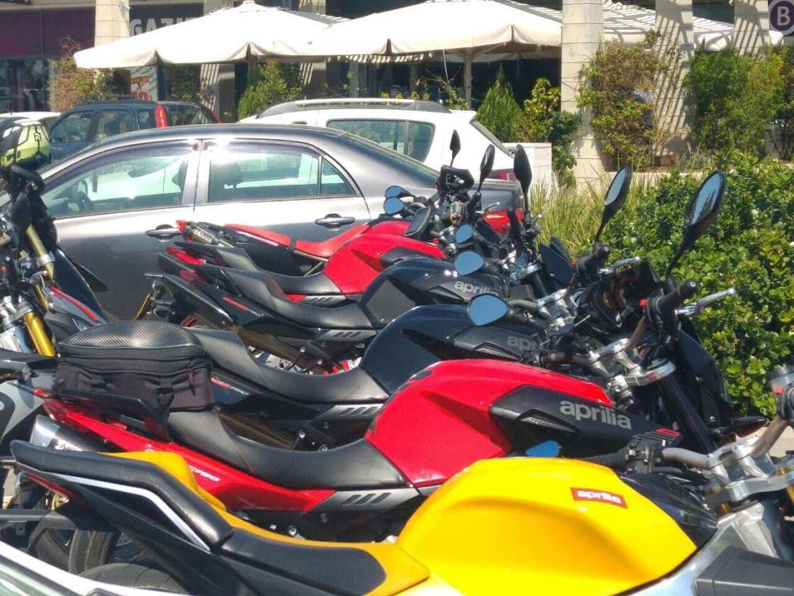 אופנועי אפריליה