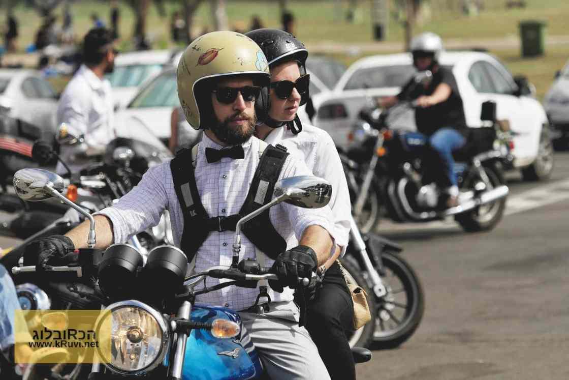 אופנוע אספנות במסע אופנועי הג'נטלמנים השנתי 2017 מסע הג'נטלמנים השנתי
