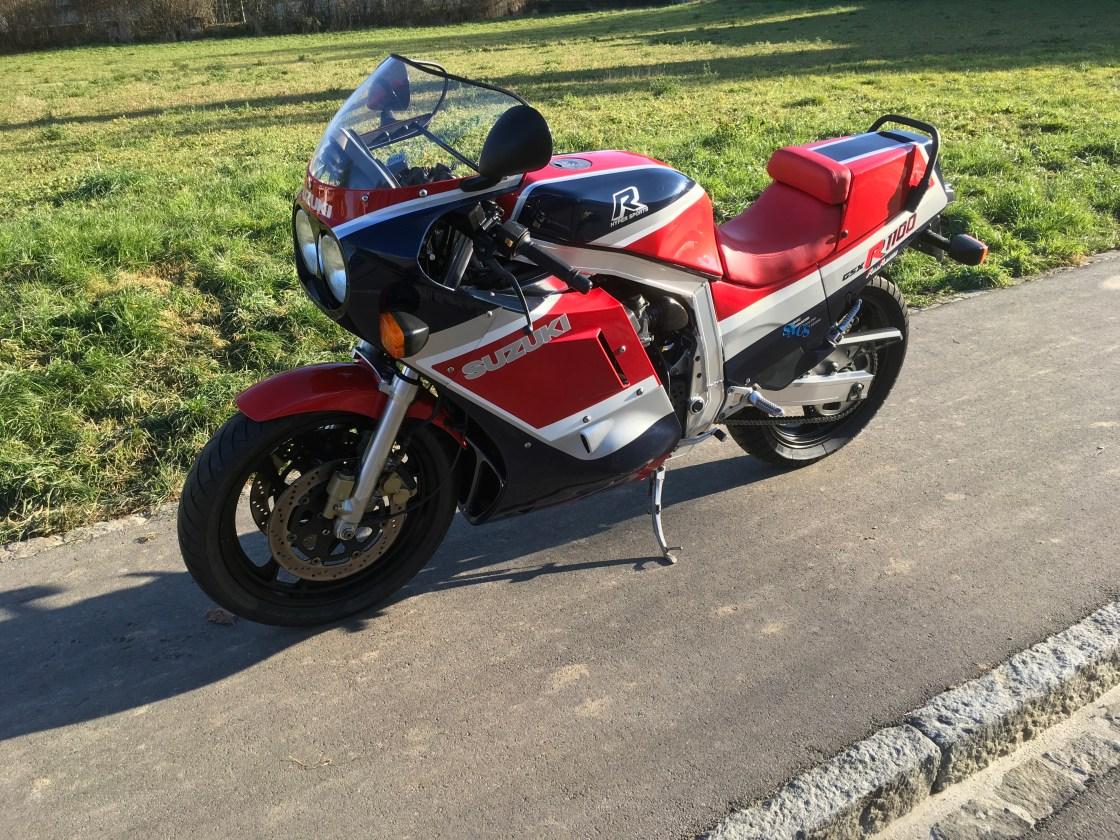 אופנוע אספנות: סוזוקי GSXR1100 טרום יצור