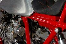 אופנוע מוטו גוצי אומנות בניית האופנוע
