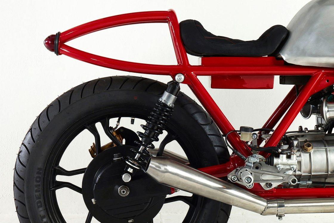 אופנוע מוטו גוצי פרויקט קפה רייסר