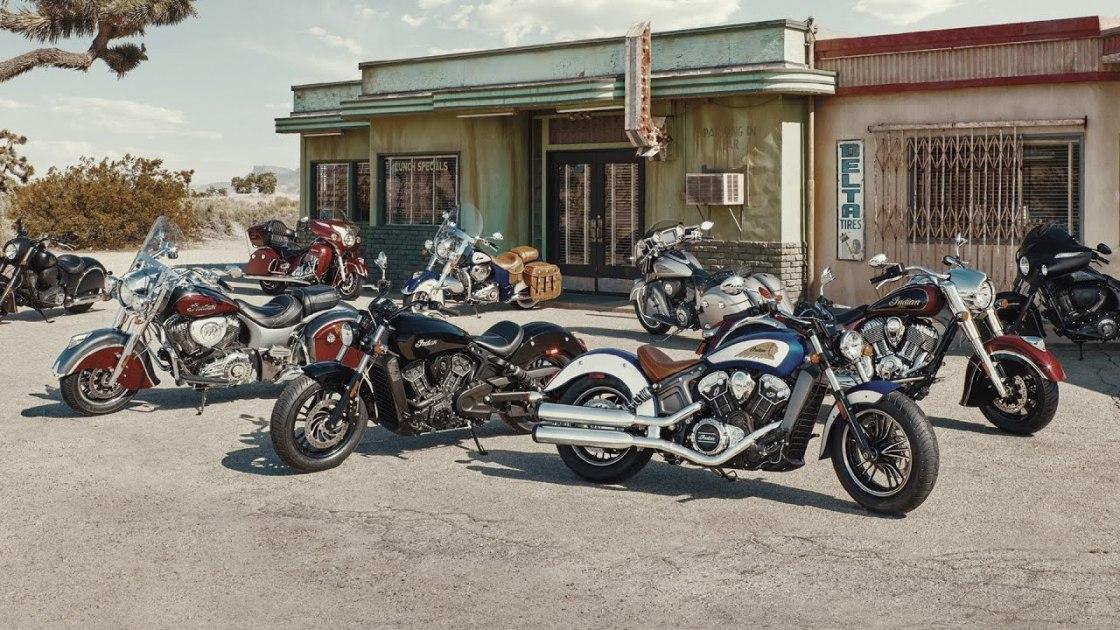 אופנועי אינדיאן קרוזרים