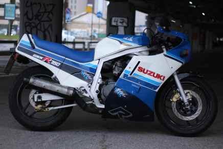 אופנוע אספנות: סוזוקי GSXR750 ספורט שנת 1986