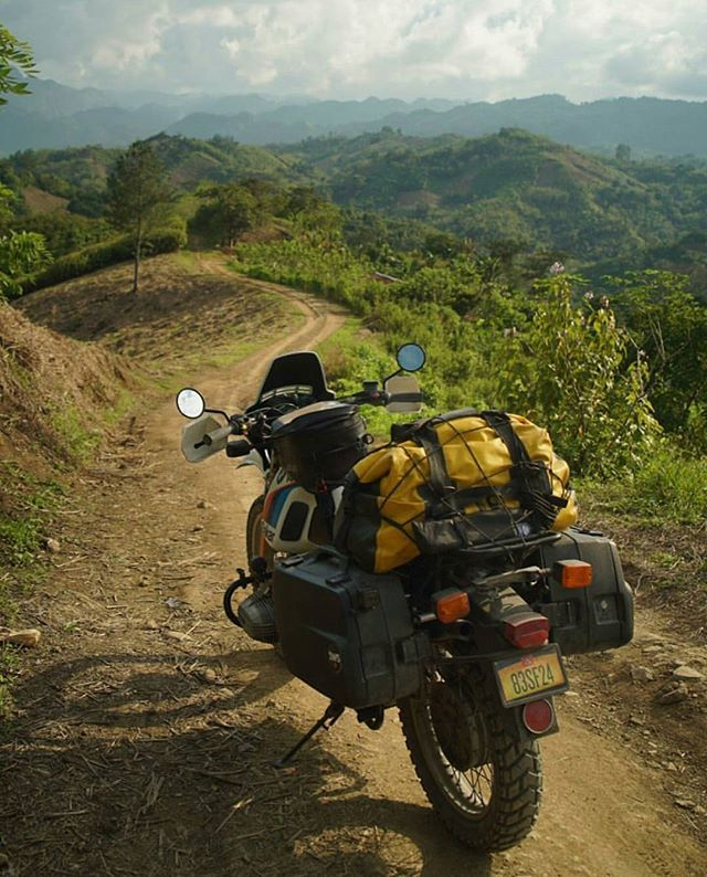מסע אופנועים גוואטמלה על אופנוע