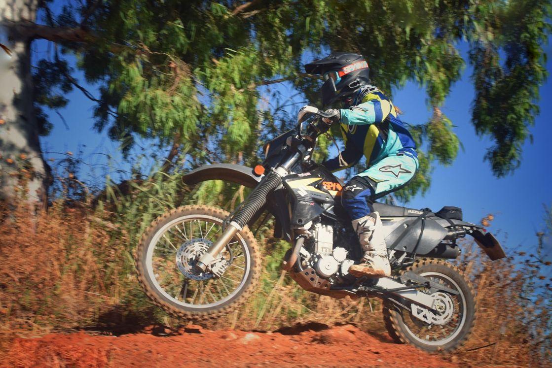 האופנוענית אחינועם הראל