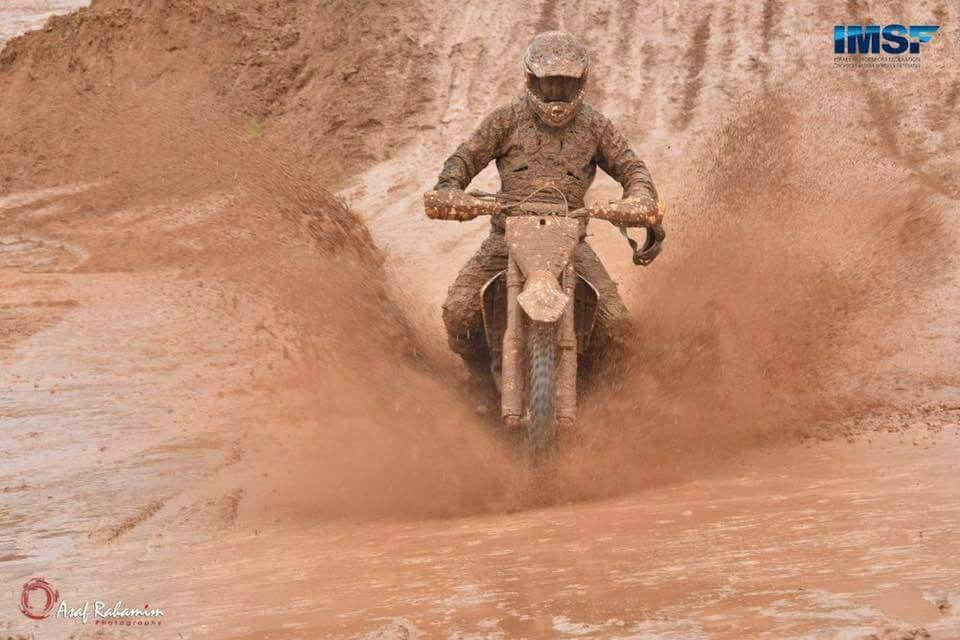 רטוב וחלקלק מסלול וינגייט - צילום: אסף רחמים