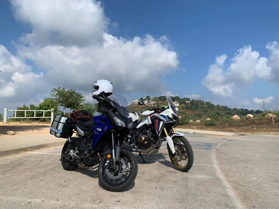 טיול עם אופנוע
