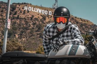 אופנוען ישראלי בלוס אנג'לס