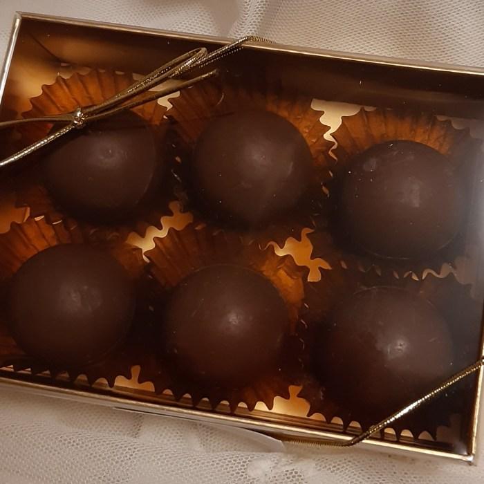 Kkrispigt goda chokladpraliner