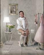 CARLA FRACCI, ballet dancer
