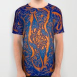 orange-wawe-3d-all-over-print-shirts