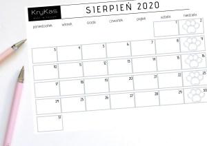 Zwierzęce kalendarze 2020 do wydruku  – pobierz i zaplanuj z nami cały miesiąc