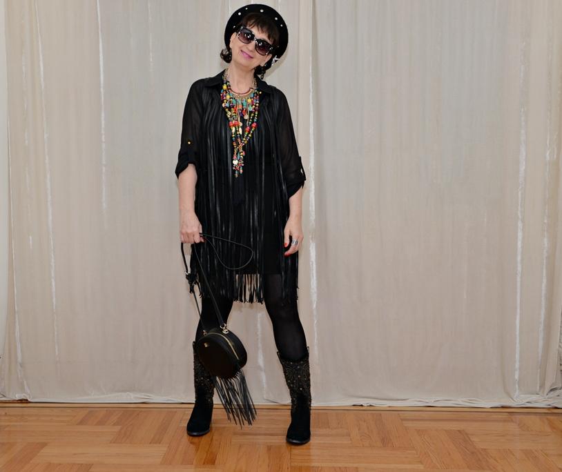dc0fa6b69331fd SUKIENKA Z FRĘDZLAMI - FRINGE DRESS   Fashion Krynka's Way
