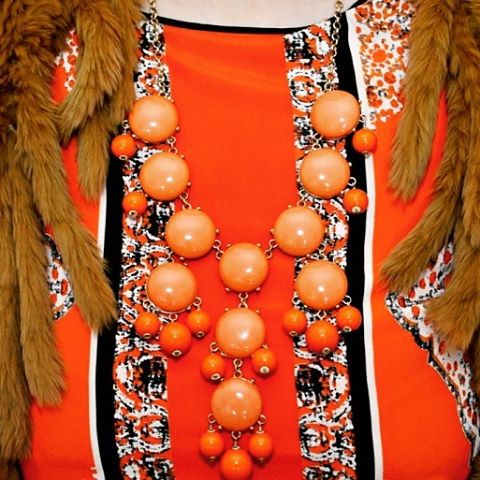 womenstyle myinspirations ootd orange over50 over50style necklace jewelry color mypassionhellip