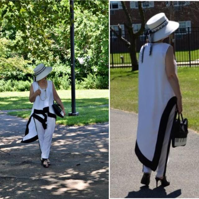 hello today mystyle whiteandblack blackandwhite dress pants lookoftheday happytime wiwthellip
