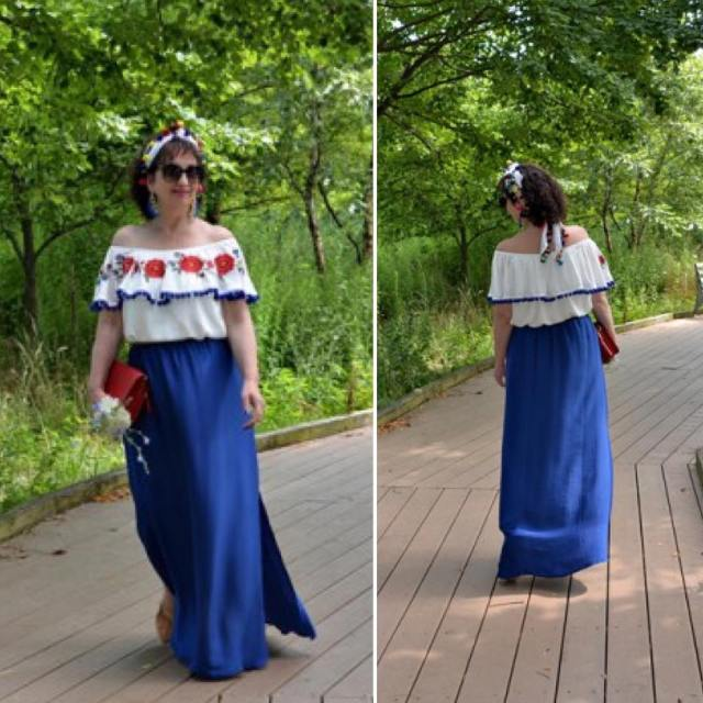 summer sunday today ootd over50 lookoftheday mystyle fashion styleover50 womenfashionhellip