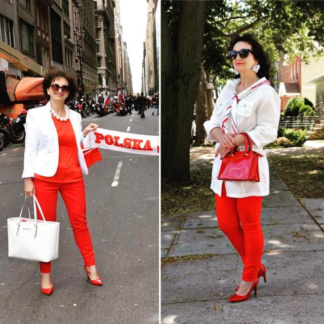 hello saturday niceday picoftheday mylook fashionblog whiteandred polishwoman lookoftheday modnapolkahellip