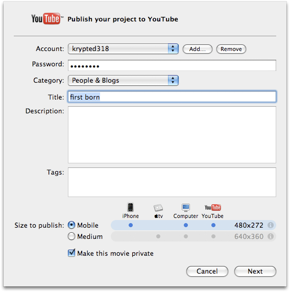upload to YouTube Archives - krypted