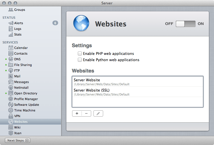 setup ftp on mac 10.8