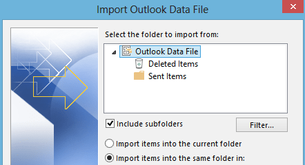 Selectively Import PST Files Into Outlook - krypted