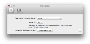 Configuring AppleIDs with Apple Configurator