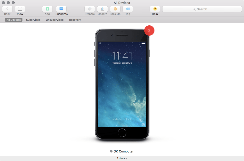 Create a backup in apple configurator 2 krypted screen shot 2015 11 03 at 81435 am malvernweather Image collections