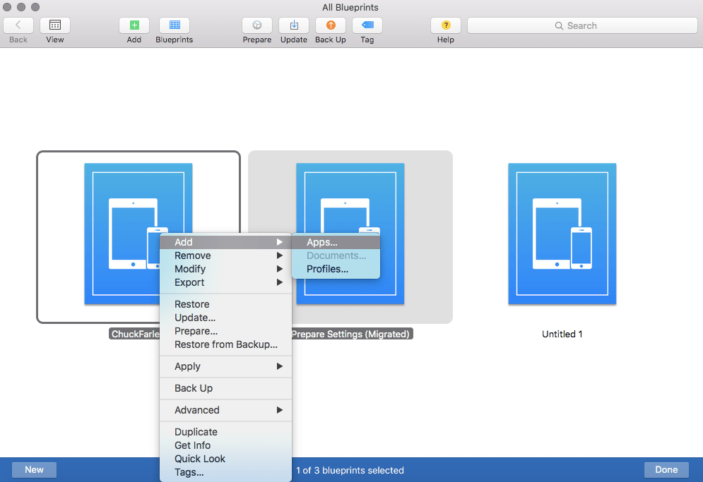 Using apple configurator 2 blueprints to manage ios devices screen shot 2015 11 04 at 10055 pm malvernweather