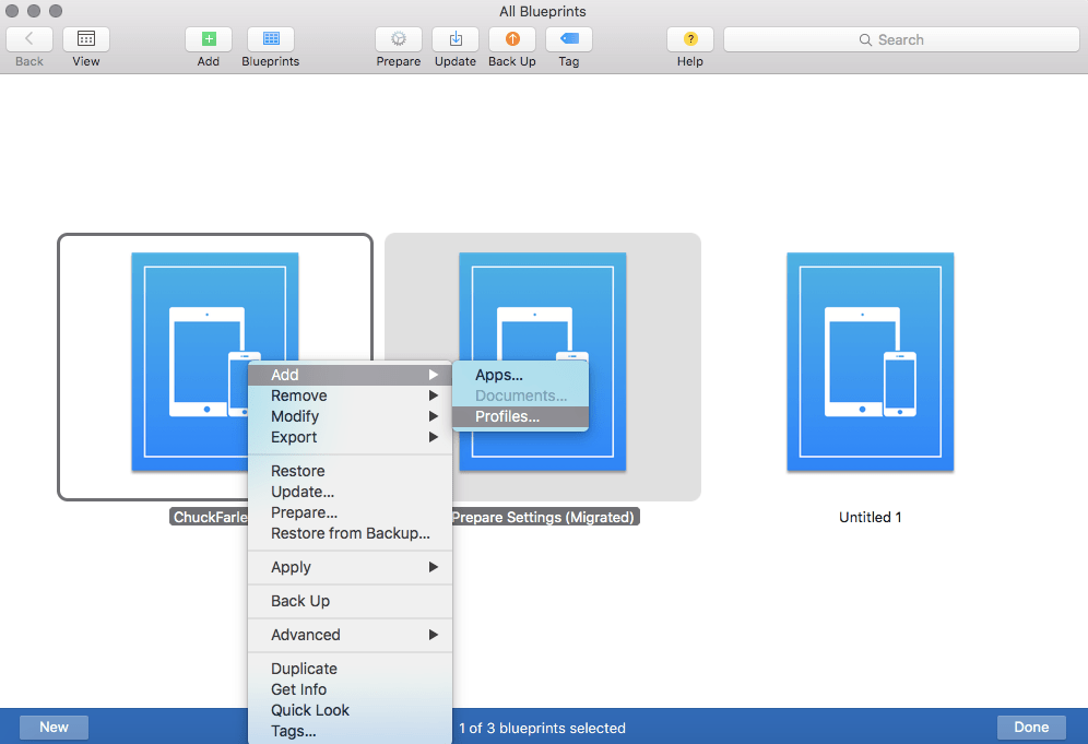 Using apple configurator 2 blueprints to manage ios devices screen shot 2015 11 04 at 10129 pm malvernweather Images