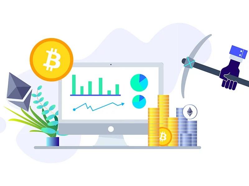 Bitcoin mining, Ethereum mining