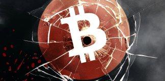 BTC, Bitcoin, down, bad, cena, prepad