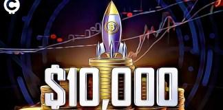 bitcoin reached 10 000 usd dollars