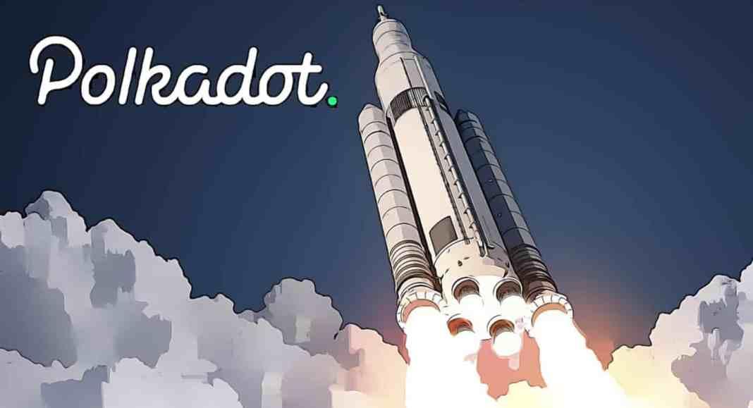 polkadot raketa