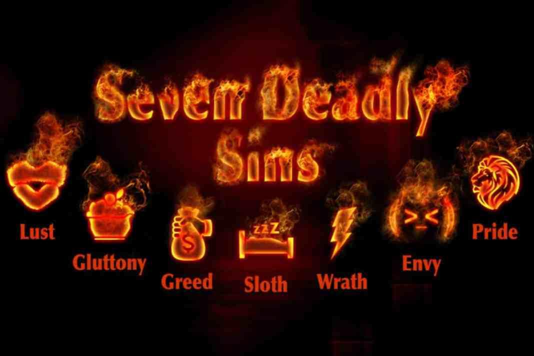 7 smrteľných hriechov