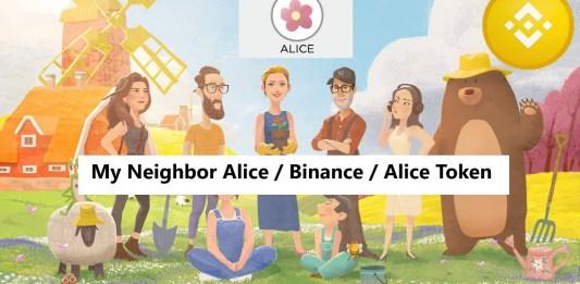 My neighbor ALICE Binance Launchpad