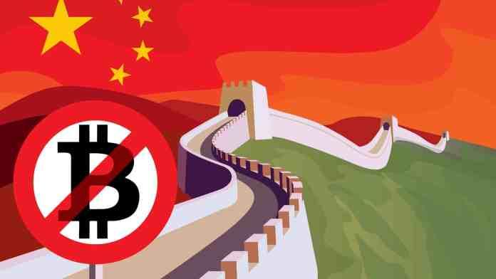 Krypto Ban Čína