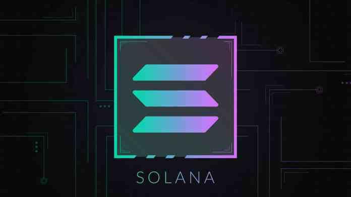 Solana vykazuje veľkú silu