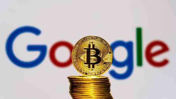 Google Trends ukazuje nízky záujem o BTC