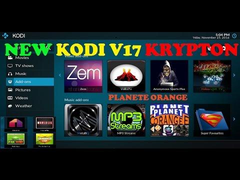 NEW KODI KRYPTON V 17 PRÉSENTATION - Kodi Krypton