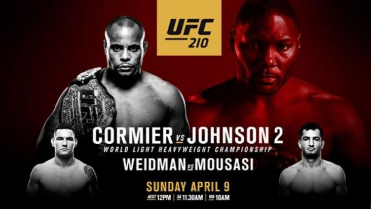 where to stream ufc 210 for free online