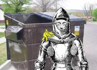 Dumpster Knights of LulzSec