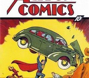 Action Comics #1 Sells for 2.16 Million at Auction