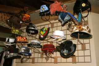 Wall of Hats