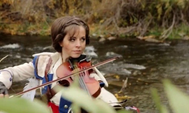 Video Of the Day!: Just Dance 4 & Assassin's Creed 3 music selections – Lindsey Stirling
