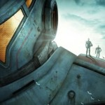 A poster for Pacific Rim teased at Comic-Con 2012.
