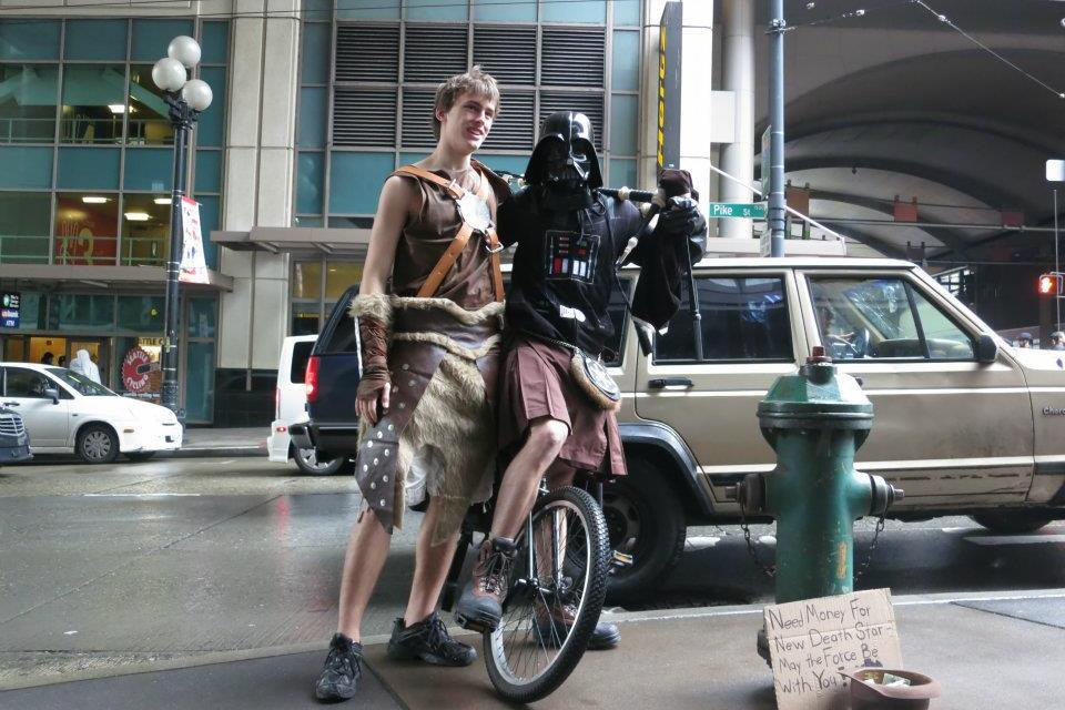 Video Of the Day!: Unipiper of Portland, Oregon