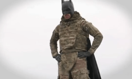 Bagram Batman Takes On The U.S. Army