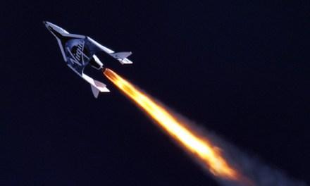 Virgin Galactic's Spaceship 'Enterprise' Successful Powered Flight