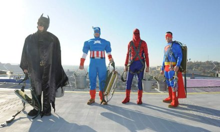 Even Window Washers Can Be Superheros