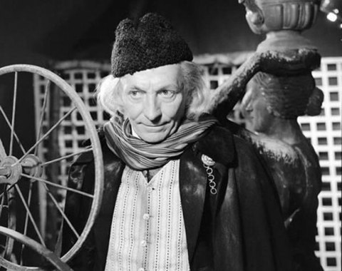 William Hartnell as Doctor Who, the first actor to portray the role.  Many of the episodes in which he appeared may be on their way back to the BBC (and to the fans).