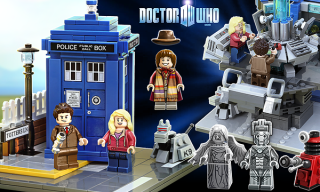 Doctor Who and Companions Lego Set